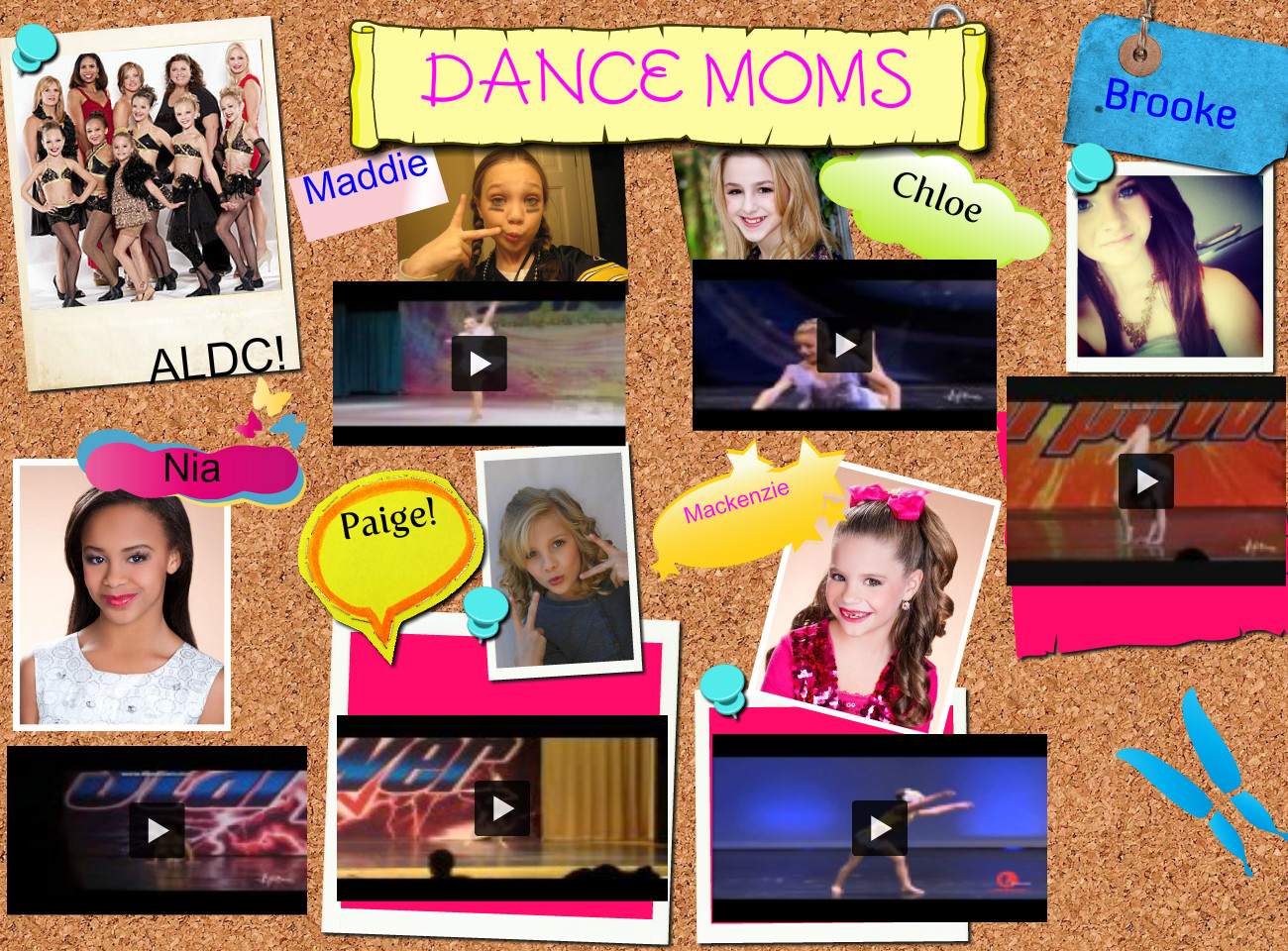 Dance moms   Dancers from the ALDC Publish with Glogster 1300x960
