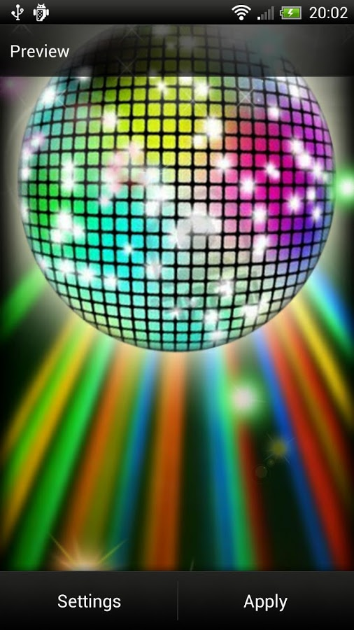 disco party to your phone disco ball live wallpaper is the app 506x900
