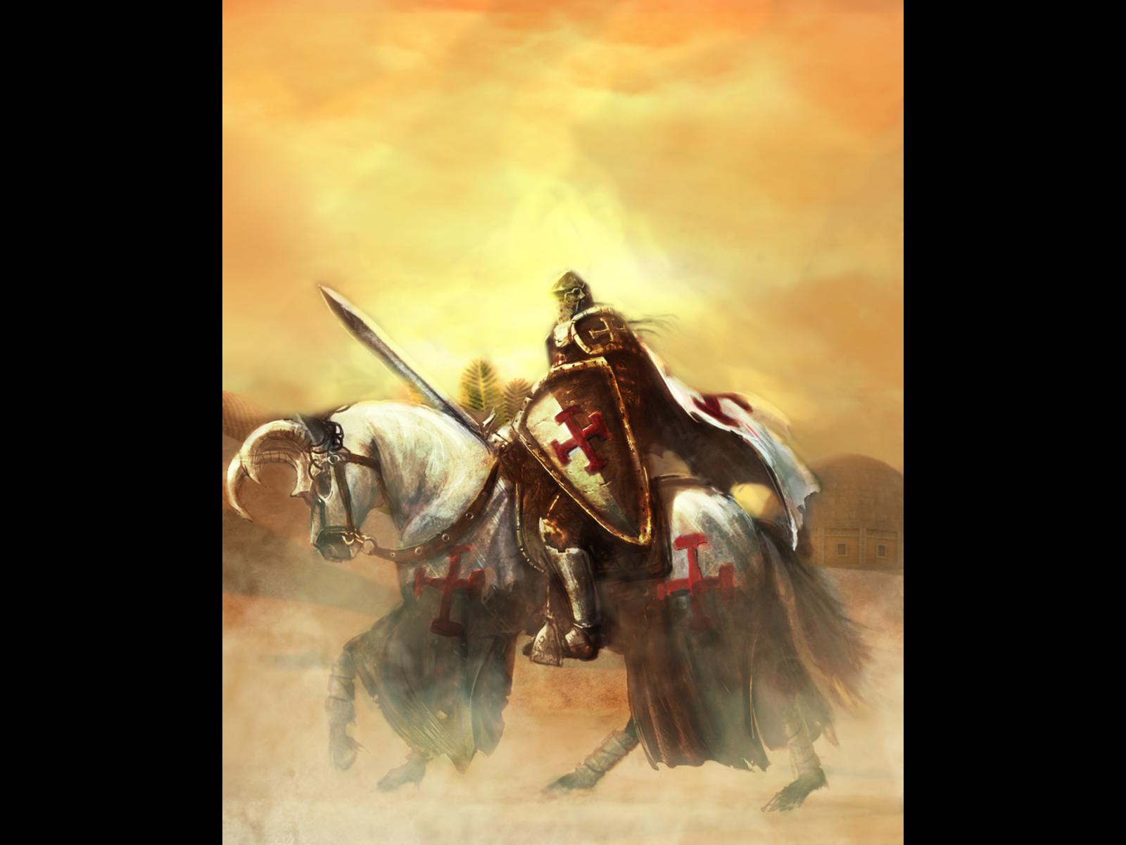 Templar Knights Wallpaper Templar Knight Art Wallpaper 1600x1200