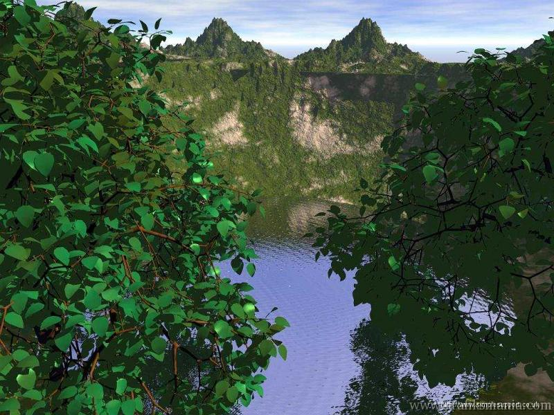 landscape 3d wallpaperjpg   Sfondi 3D alta risoluzione wallpaper foto 800x600