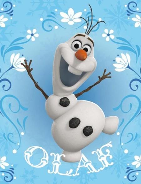 Olaf from Disneys Frozen Wallpaper for Nook Tablet 450x590