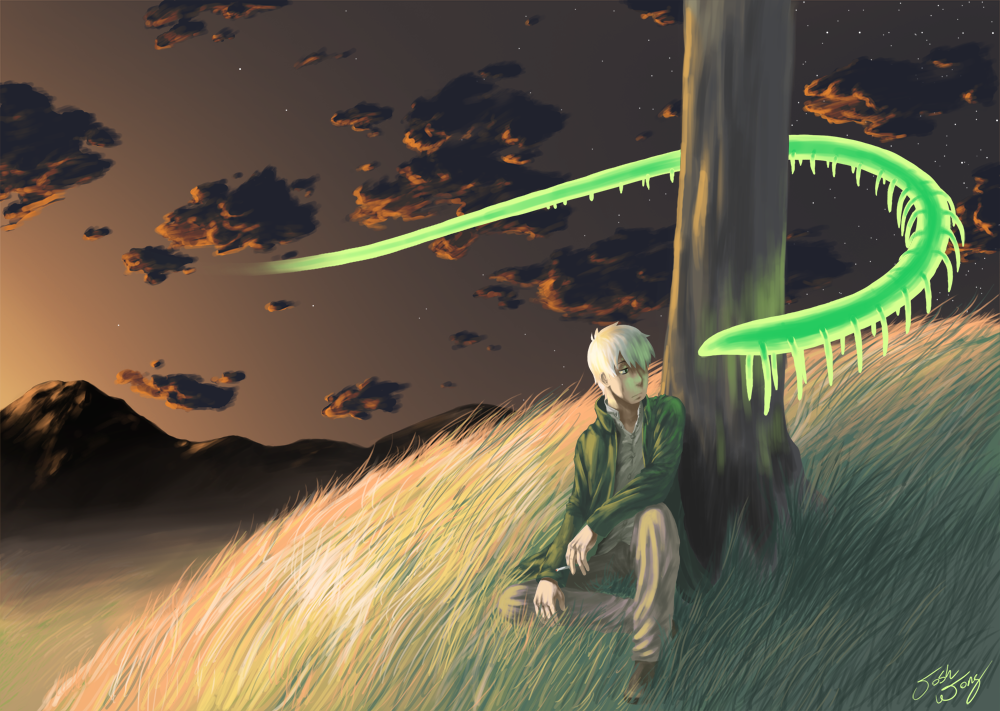 Ginko Mushishi 9 Hd Wallpaper   Hivewallpapercom 1000x711