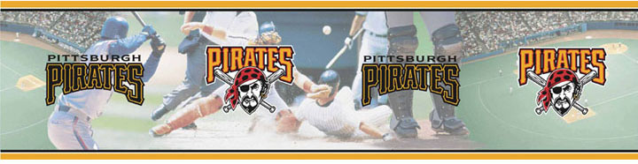 MLB Baseball Home DecorPittsburgh Pirates Wall Border 5815420 720x186