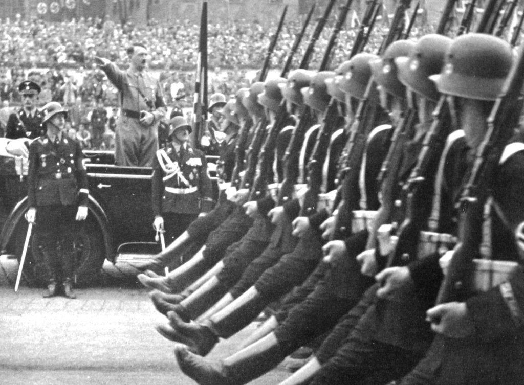 the details of nazi germany attack on great britain in 1940 Isolationism and world war ii great britain, and france forced germany to reduce its leader of the nazi party and the third reich in germany during.
