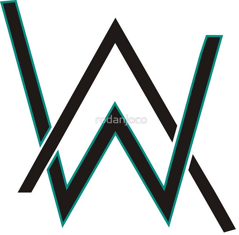 Alan Walker Stickers by rodanjoco Redbubble 800x786