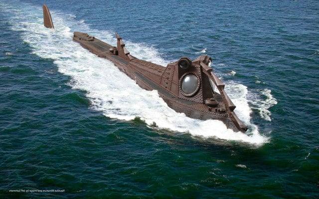 Nautilus Submarine Tattoo The russian submarine may hit 640x400