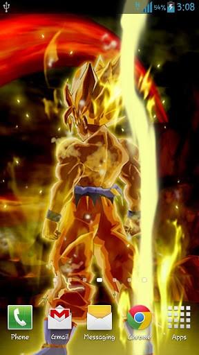 View bigger Goku Live Wallpaper for Android screenshot 288x512