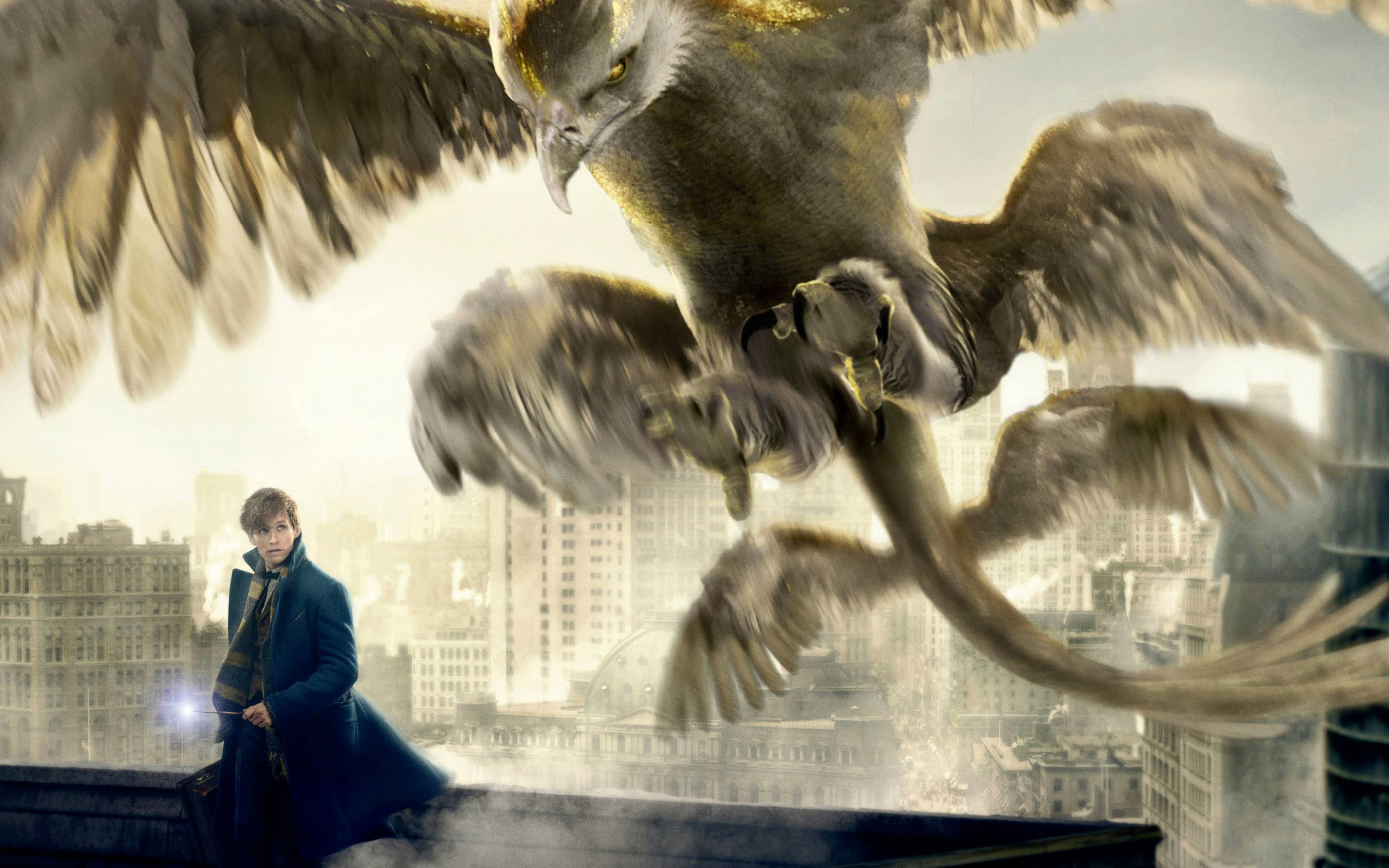 Fantastic Beasts and Where to Find Them HD Wallpaper Background 2880x1800