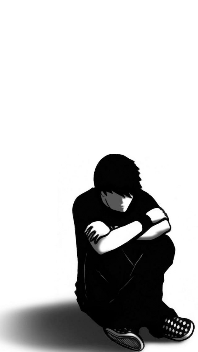 Emo boy iPhone 5 wallpapers Background and Wallpapers 640x1136