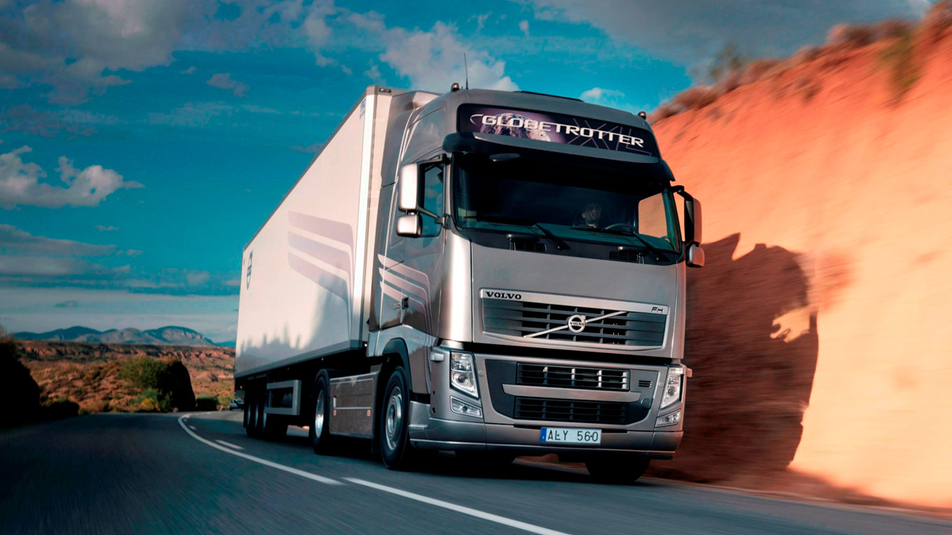 Wallpapers Volvo Truck Fh Hd 1366x768
