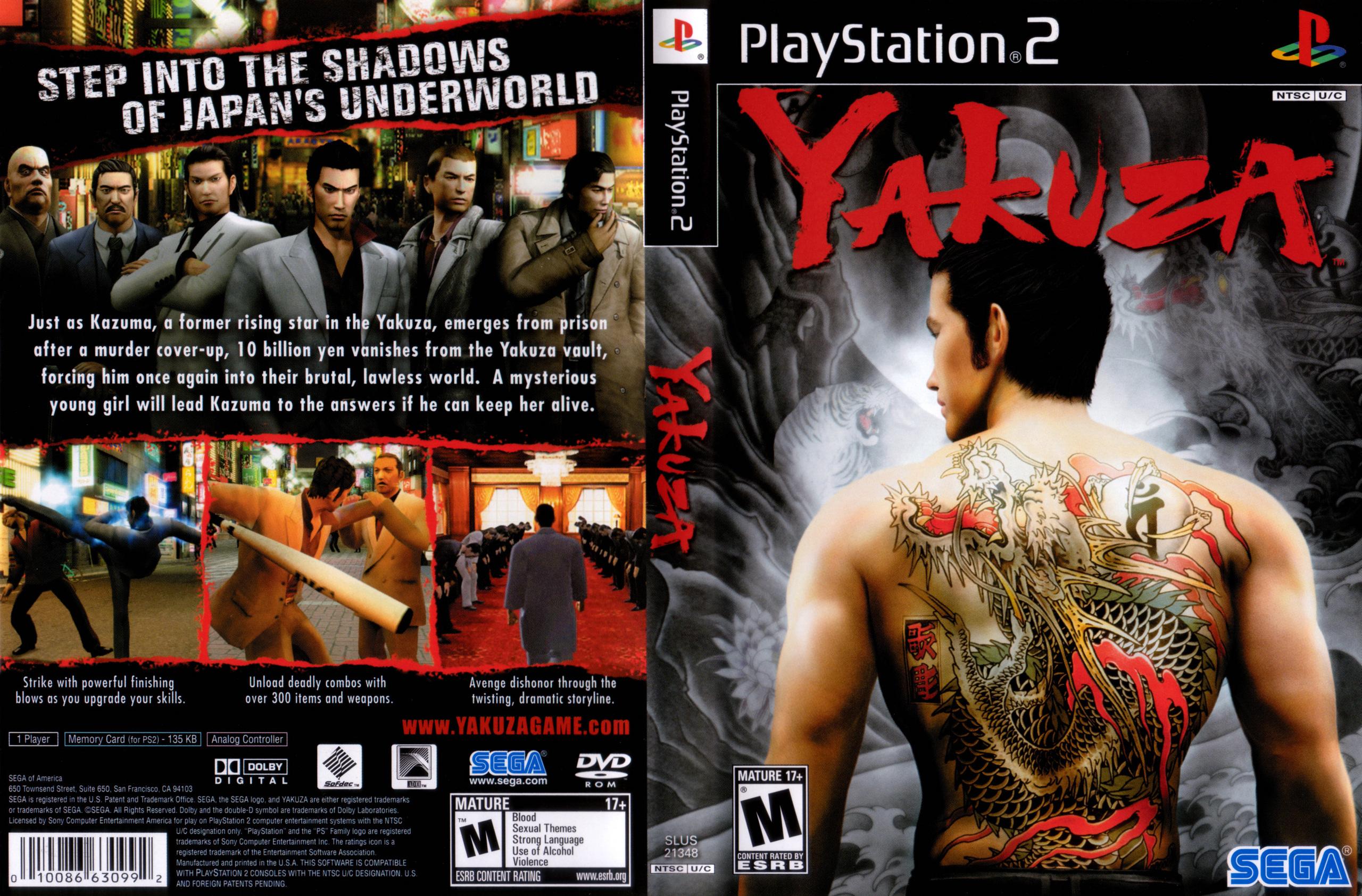 Yakuza Full Cove   Game Ps2 Yakuza Hd Wallpapers backgrounds 2560x1684