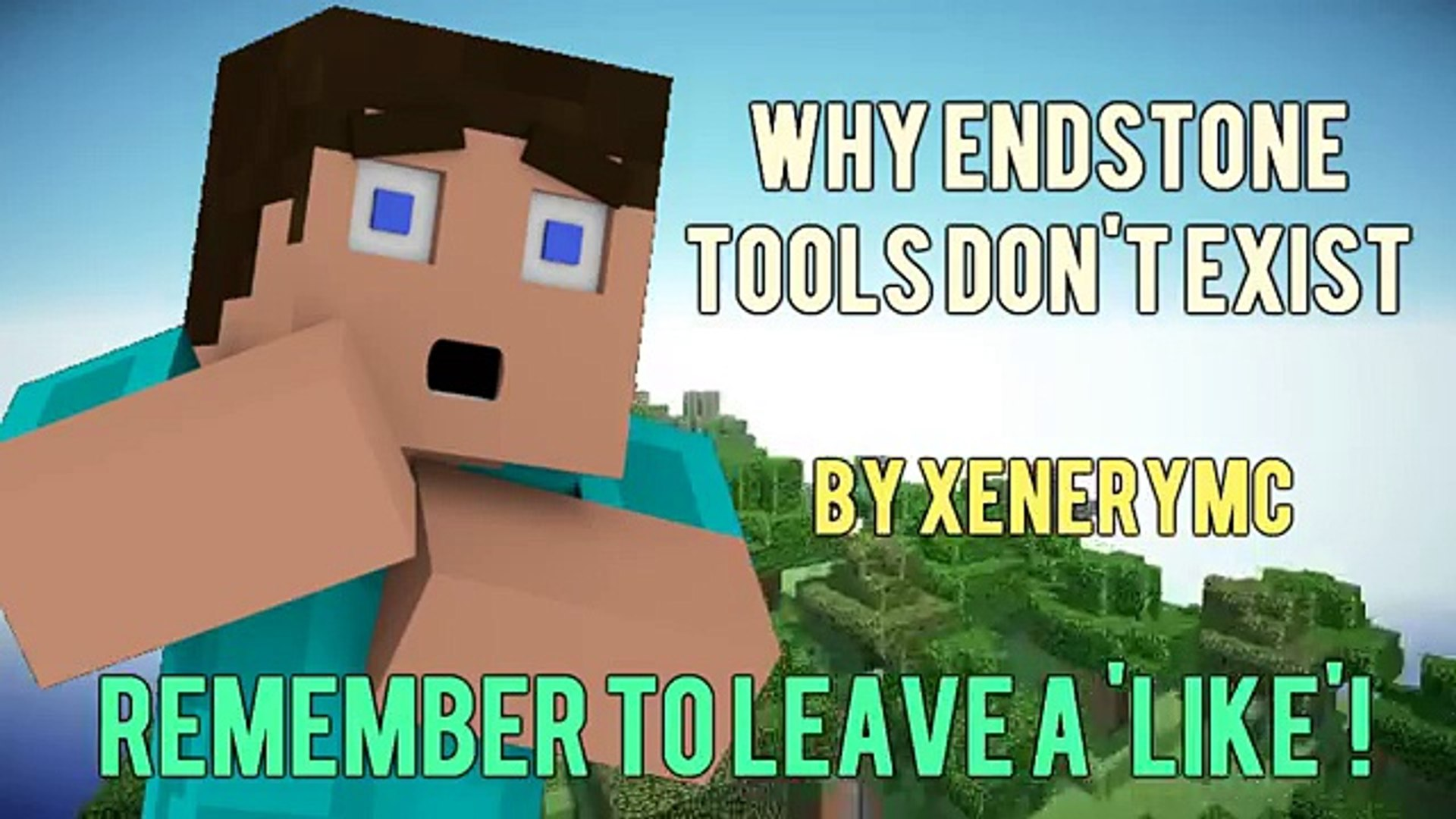 Why Endstone Tools Dont Exist   Minecraft Dailymotion 1920x1080