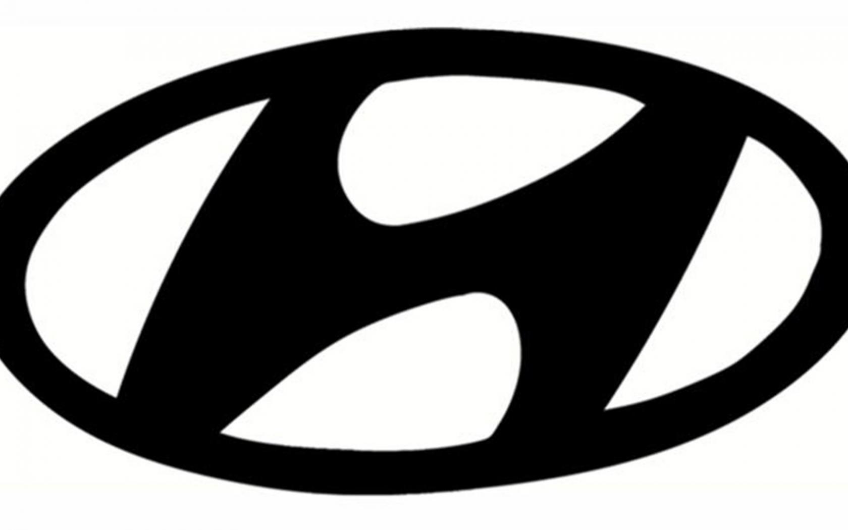 Black Hyundai Logo   image 120 1680x1050