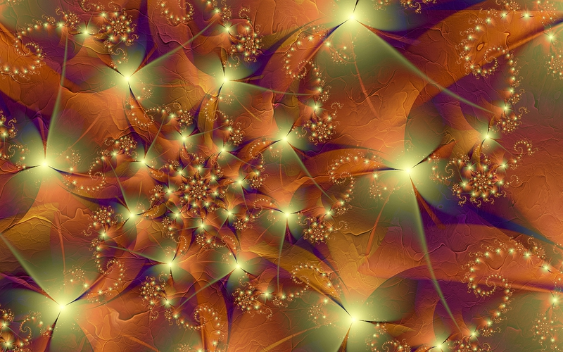 autumn colorful Fall Colors Abstract 3D and CG HD Wallpaper
