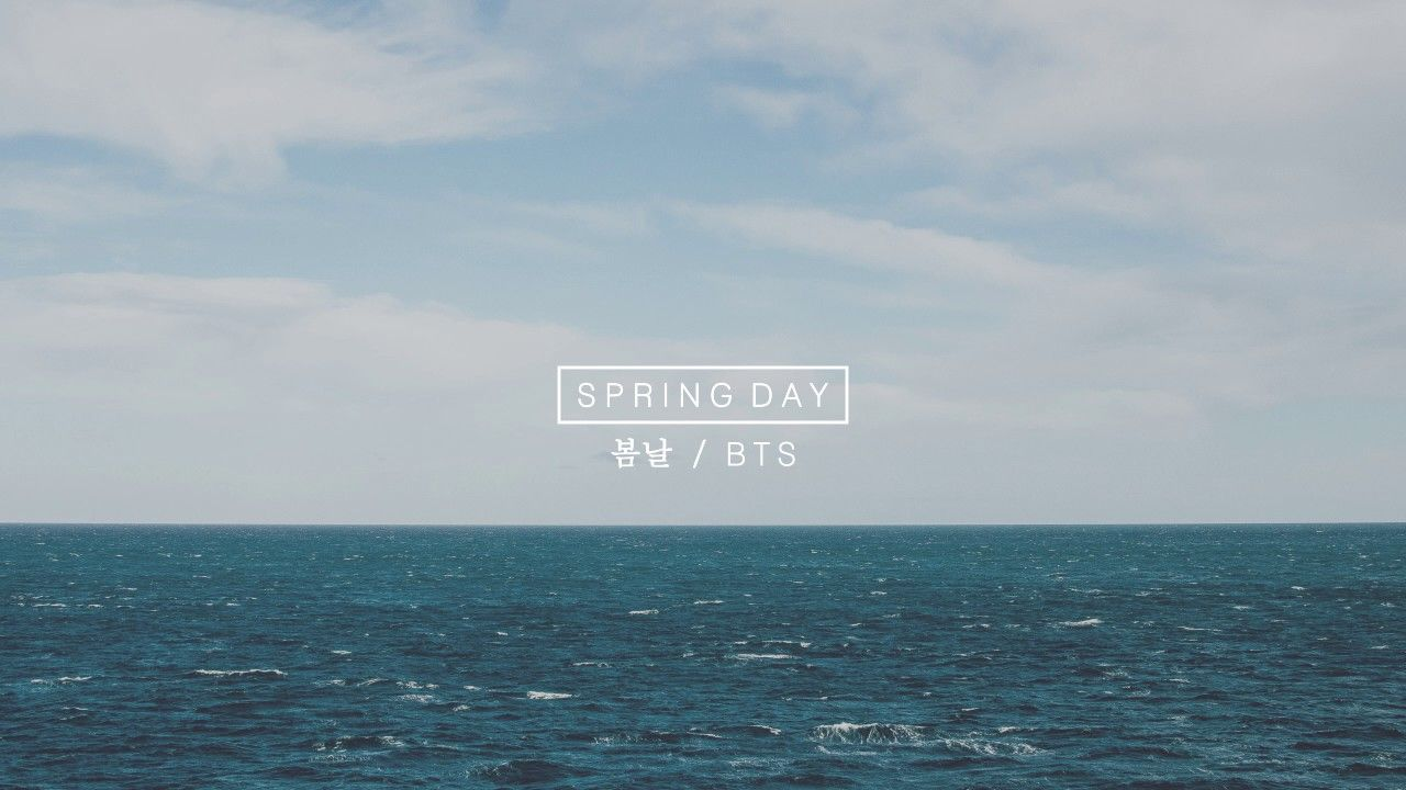 BTS Spring Day Desktop Wallpapers   Top BTS Spring Day 1280x720