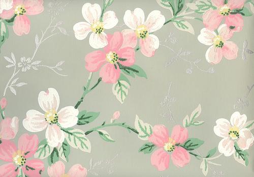 mid century wallpaper Flickr   Photo Sharing 500x348