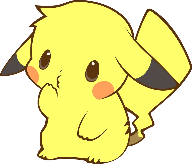 pokemon pikachu transparent anime vectors Anime Pokemon HD Desktop 800x686