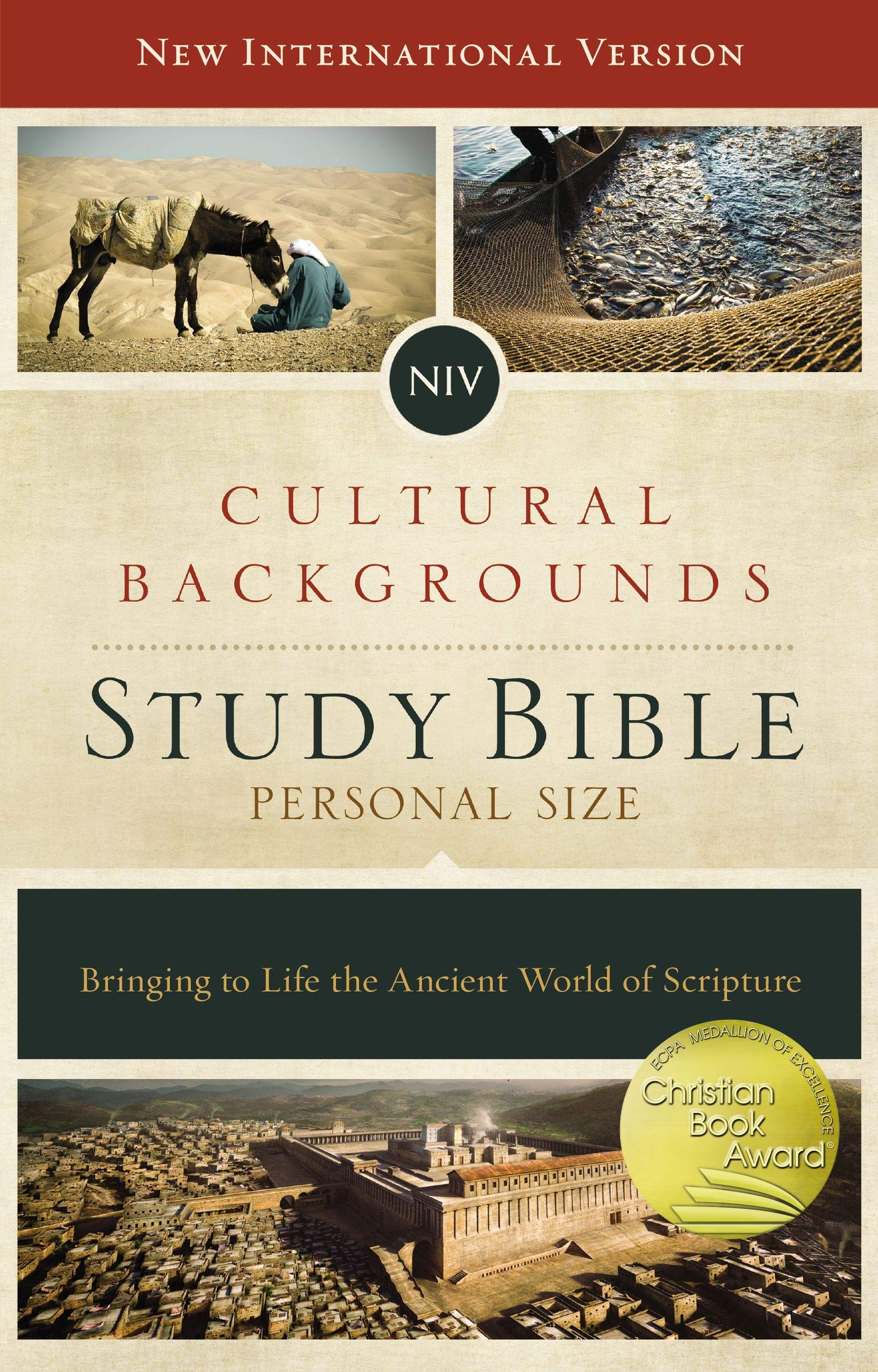 NIV Cultural Backgrounds Study Bible Personal Size Hardcover 1536x2400