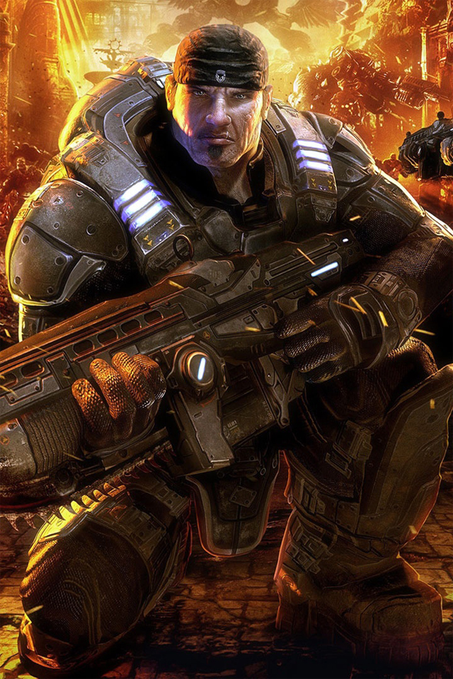 Download Gears Of War Iphone 4s Wallpaper Download Iphone Wallpapers