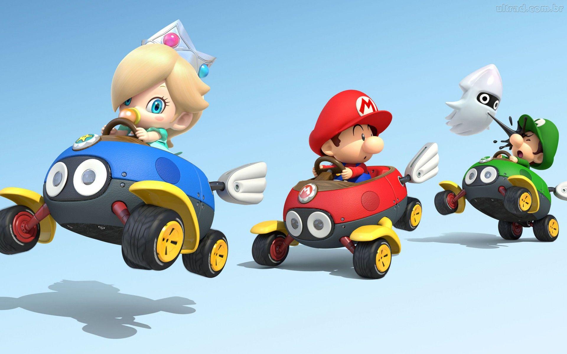 Mario Kart 8 Background: Mario Kart 8 Wallpaper HD
