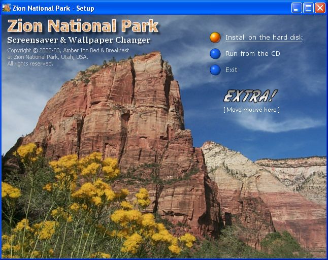 Back to Zion National Park Screensaver and Wallpaper Changer Details 646x512