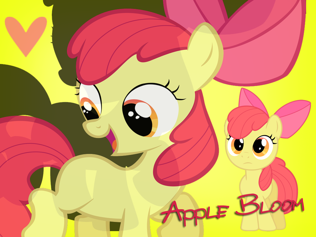 AppleBloom Wallpaper by Ichigooneechan66 on deviantART 1024x768