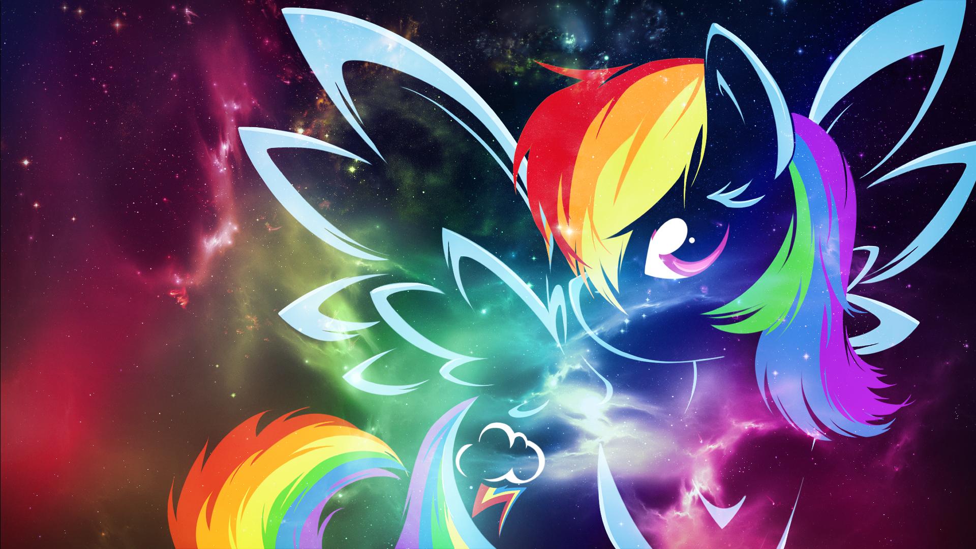 Rainbow Dash Background - WallpaperSafari