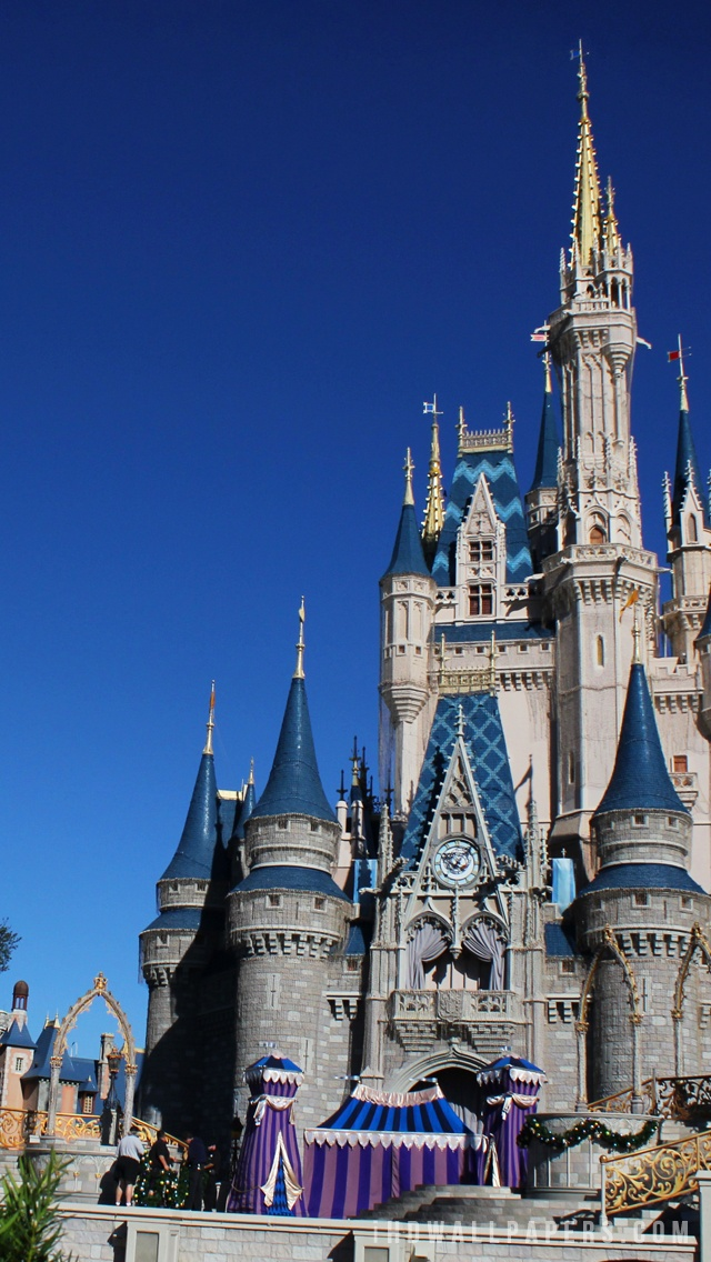 Disney Castle HD Wallpaper   iHD Wallpapers 640x1136