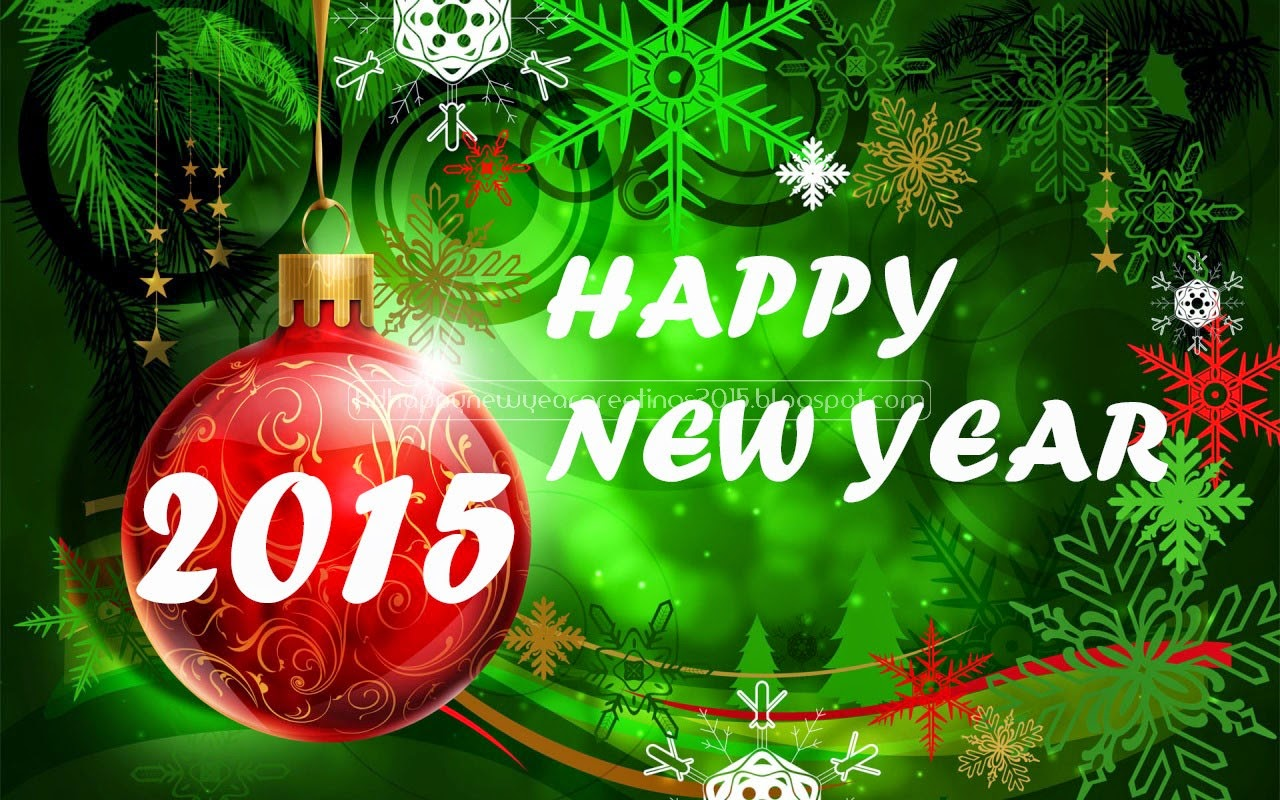 Free download New Year Wishes Messages 2015 1280x800 for your