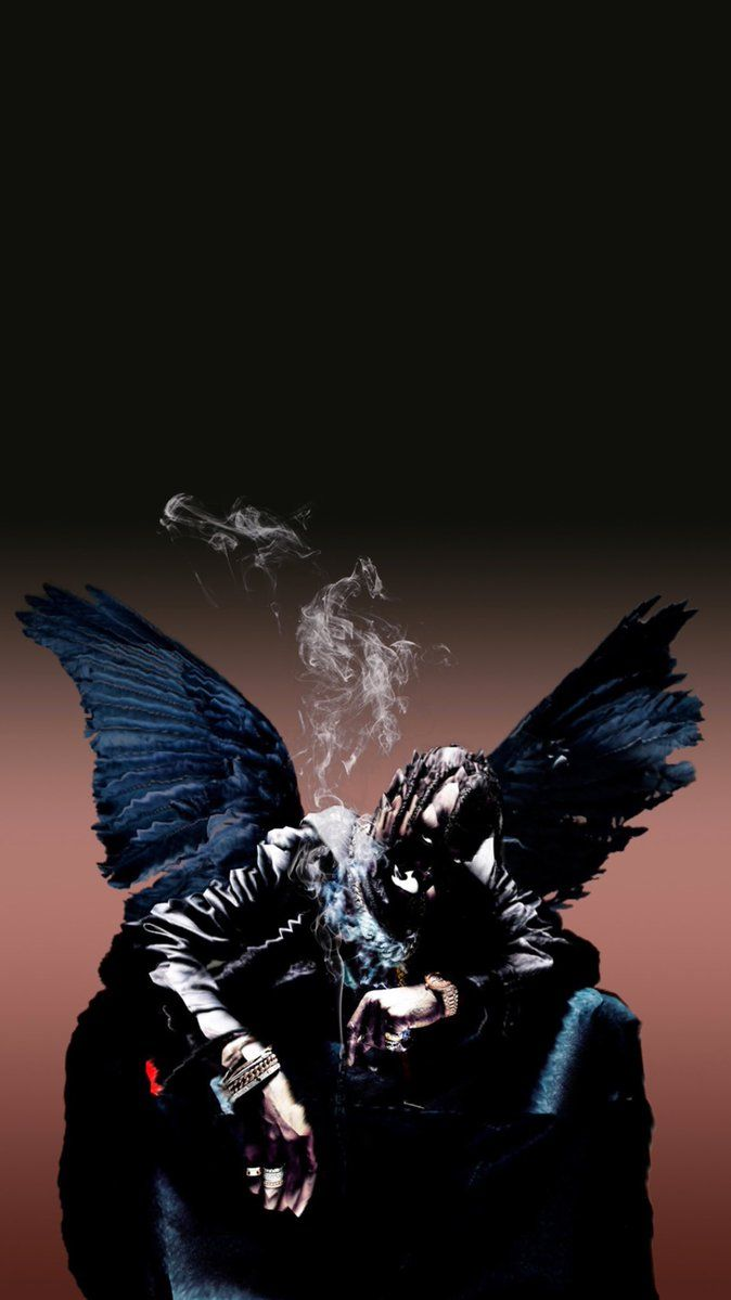 Birds In The Trap Sing Mcknight Wallpaper posted by Sarah Johnson 674x1199