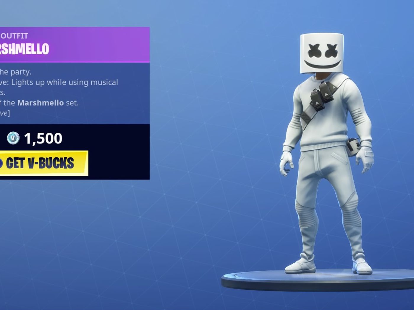 Marshmello Fortnite concert how to watch the show online   The Verge 1400x1050