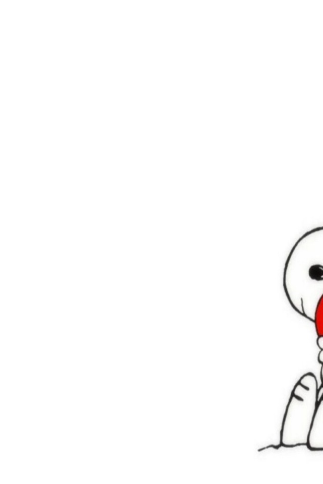 snoopy valentine wallpaper 640x960