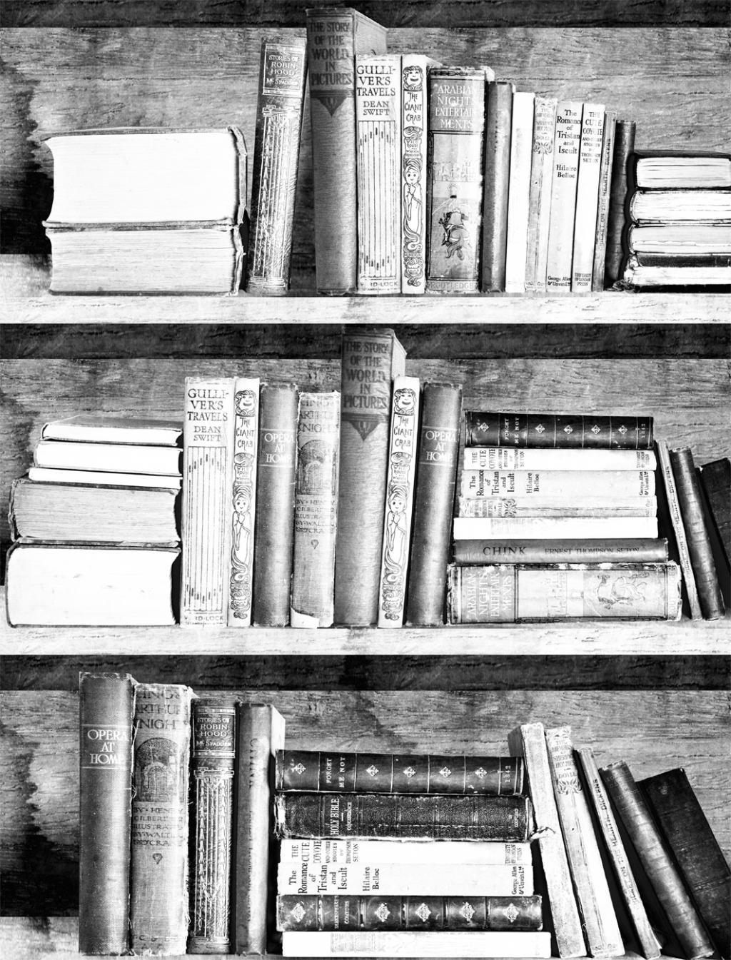 Bookshelf Wallpaper   Photocopy Bookshelf Wallpaper 1024x1345