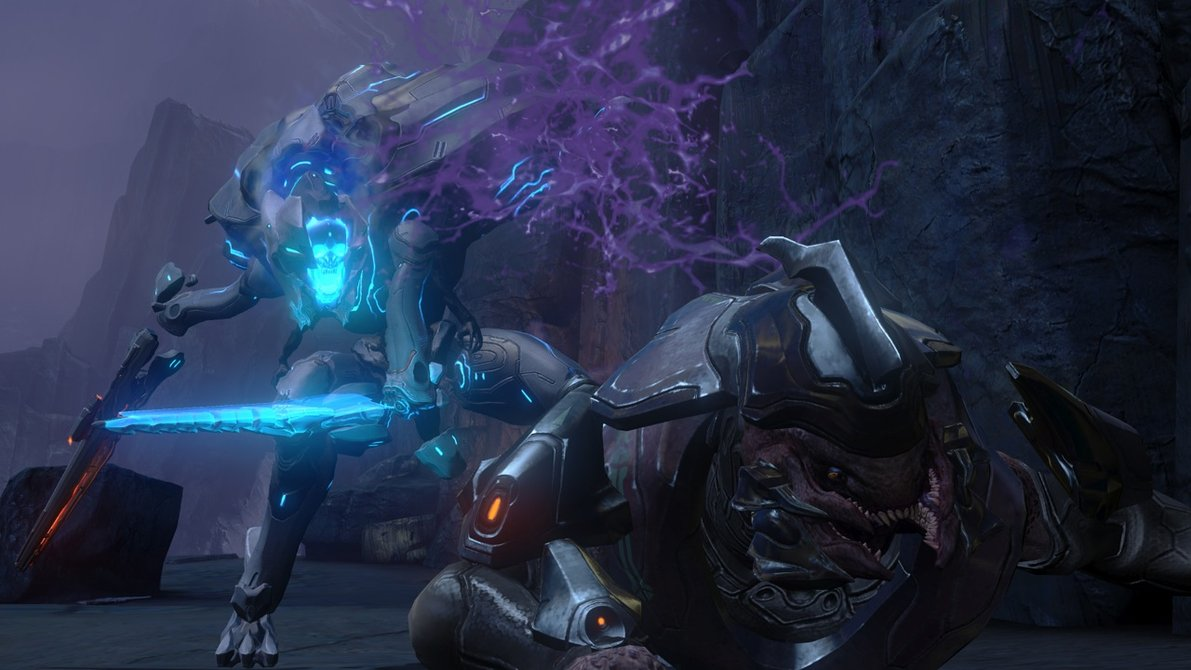 Halo 4 Elite Wallpaper Images Pictures   Becuo 1191x670