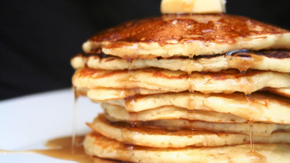 Pancakes Pile Honey   Stock Photos Images HD Wallpaper HD 1156x650