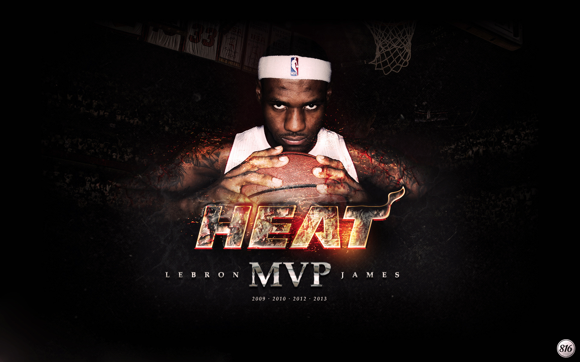 Lebron James Miami Heat MVP High Definition Wallpapers High 1920x1200