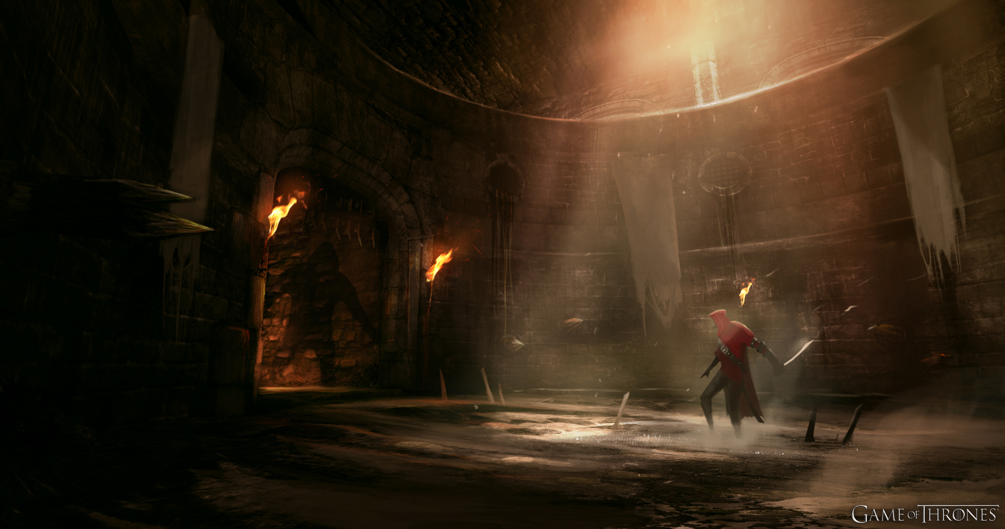 Game of Thrones Game Dungeon HD Wallpaper High Definition HD Games 2051x1080