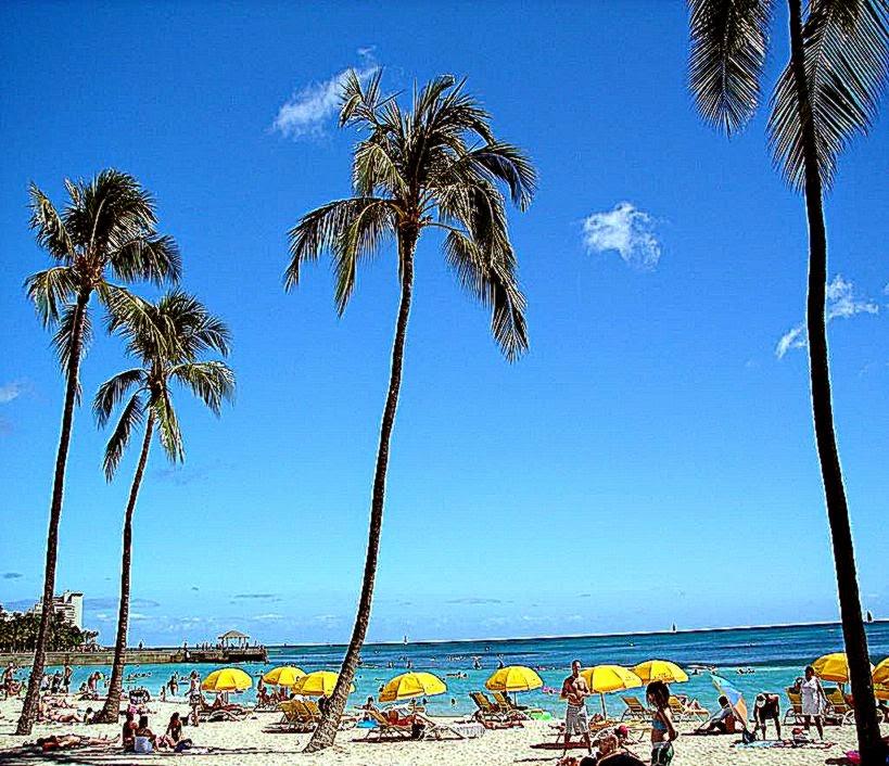 Waikiki Beach Wallpaper HD