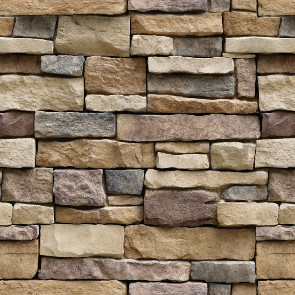 Stone Peel and Stick Wallpaper   Self Adhesive Wallpaper   Easily 1000x1000
