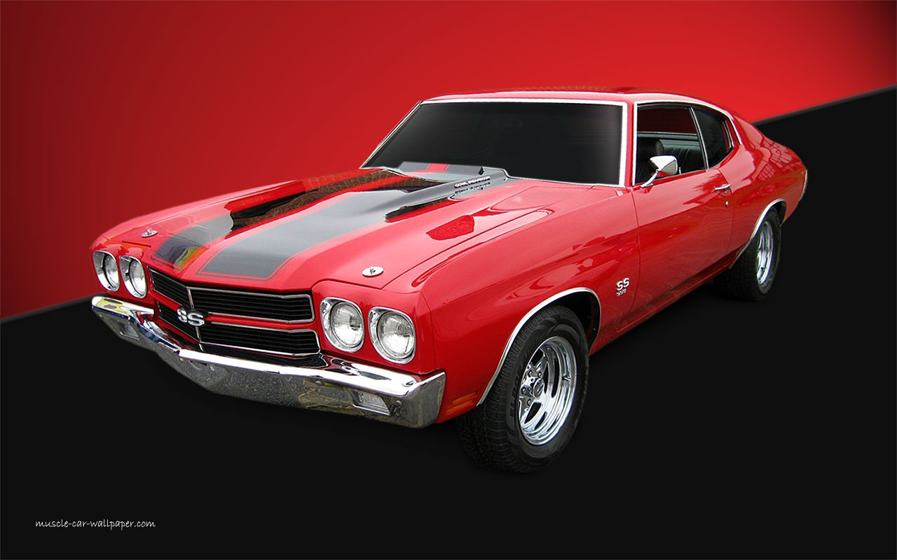 wallpapercommfrGMChevelle1970 chevelle ss wallpaper red coupe lfv 1280x800