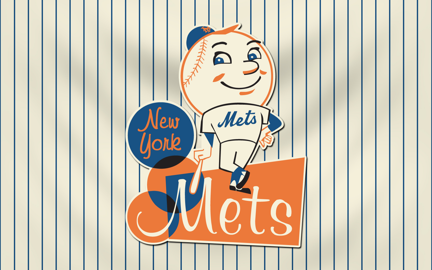 New York Mets Browser Themes Desktop Wallpapers 1680x1050