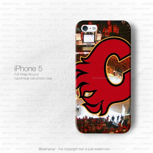 Calgary Flames NHL Sport Logo iPhone 5 5s Case 500x500