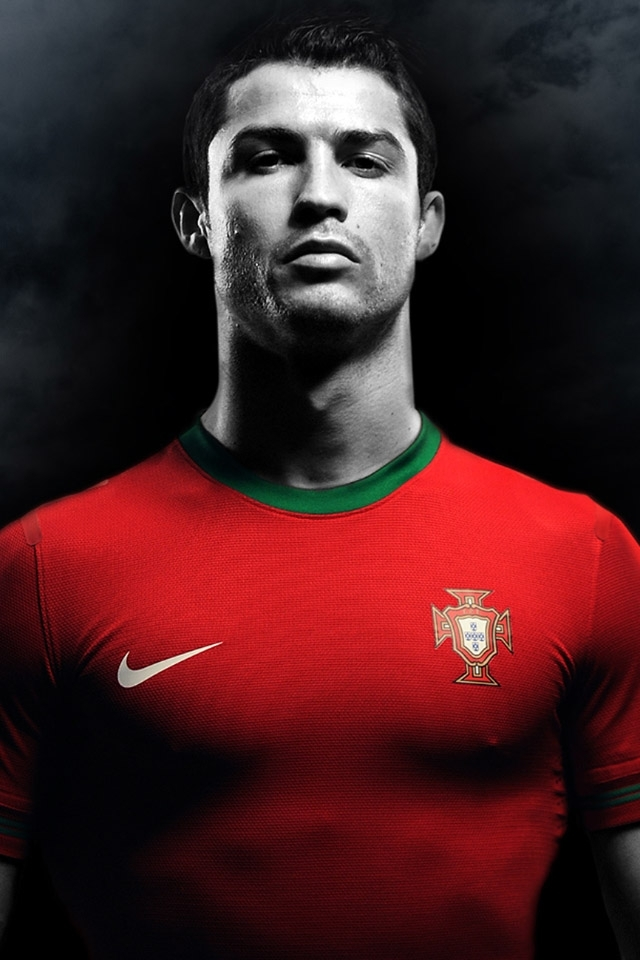 Cristiano Ronaldo CR7 Portugal iPhone 4 Wallpaper and iPhone 4S 640x960