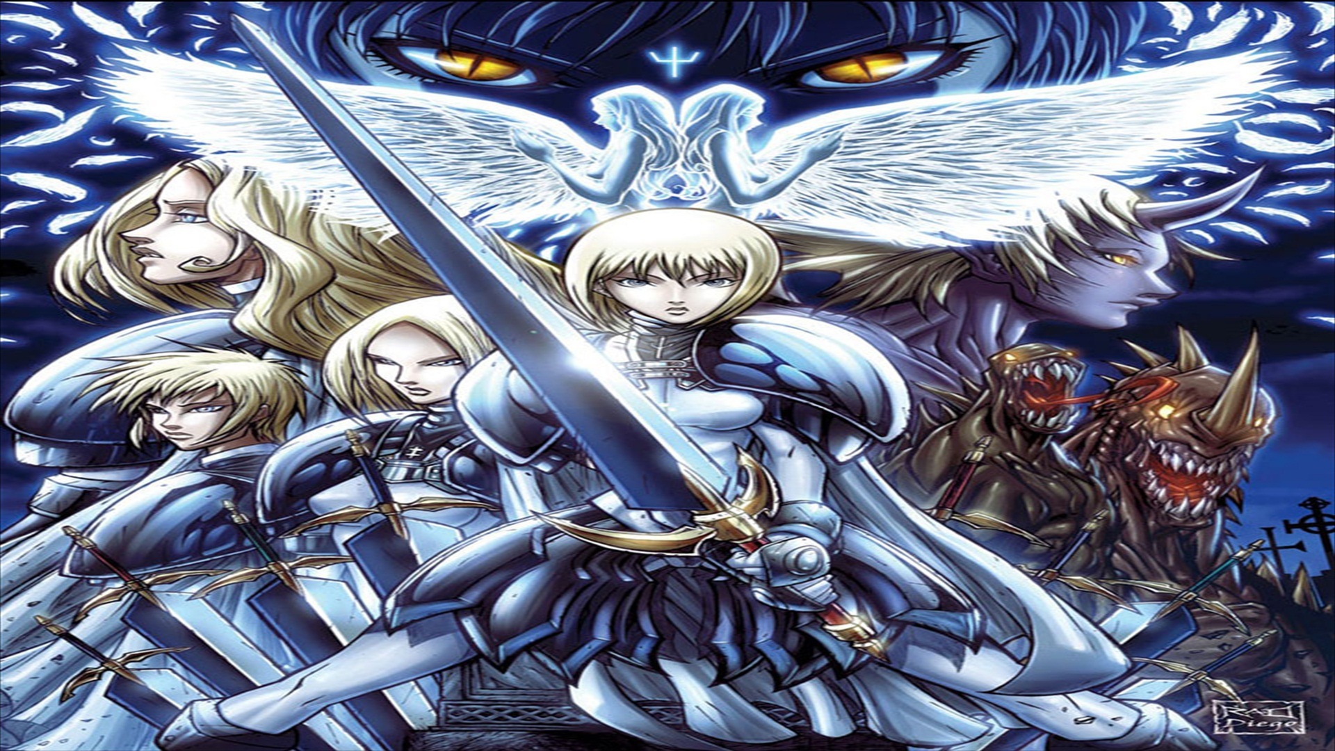 Anime Claymore Wallpaper 1920x1080 Anime Claymore 1920x1080