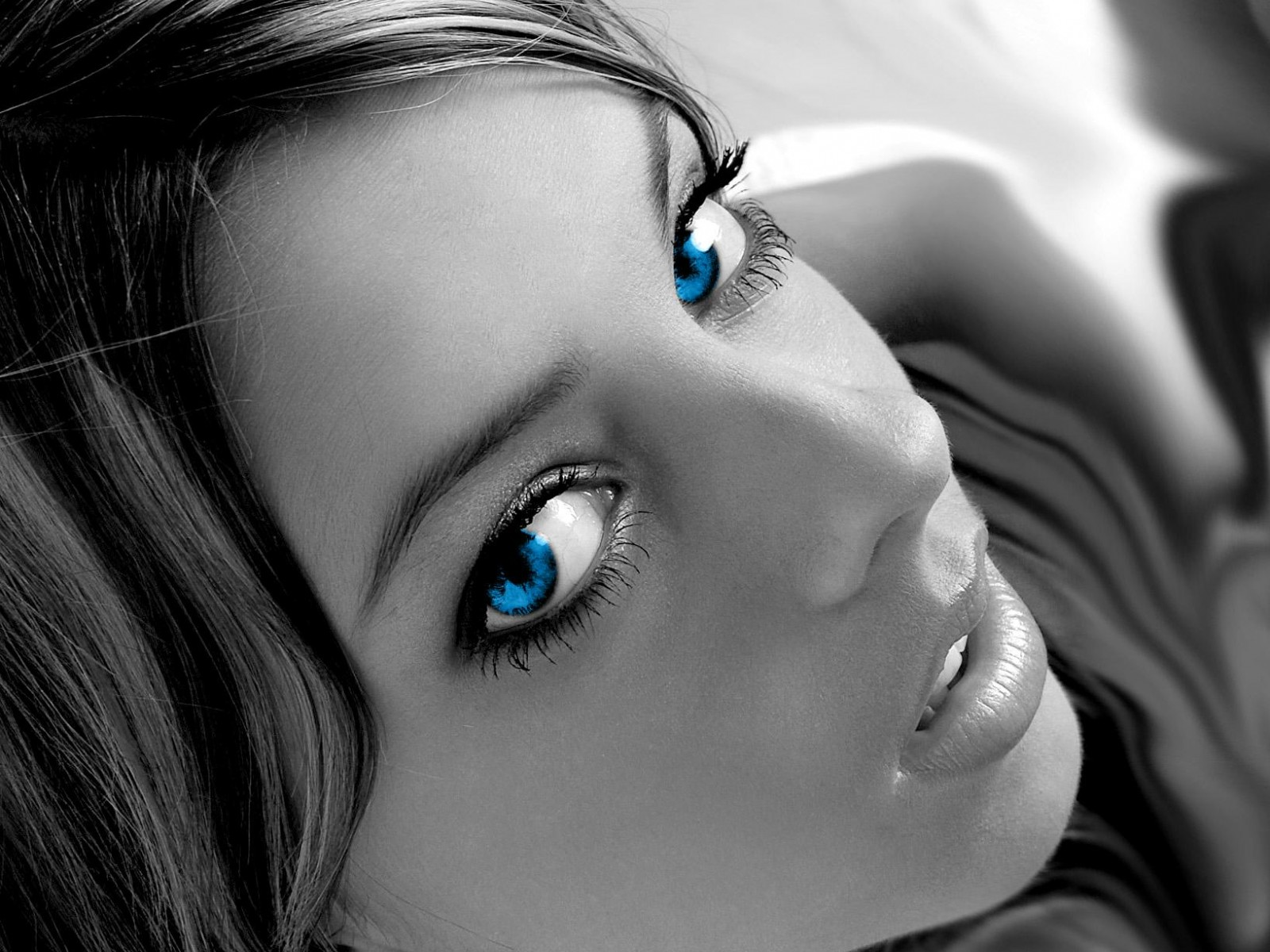 Digital blue eyes wallpapers Digital blue eyes stock photos 1600x1200