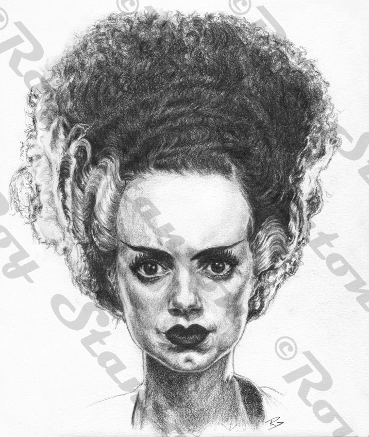 Bride of Frankenstein by RoyStanton 760x900