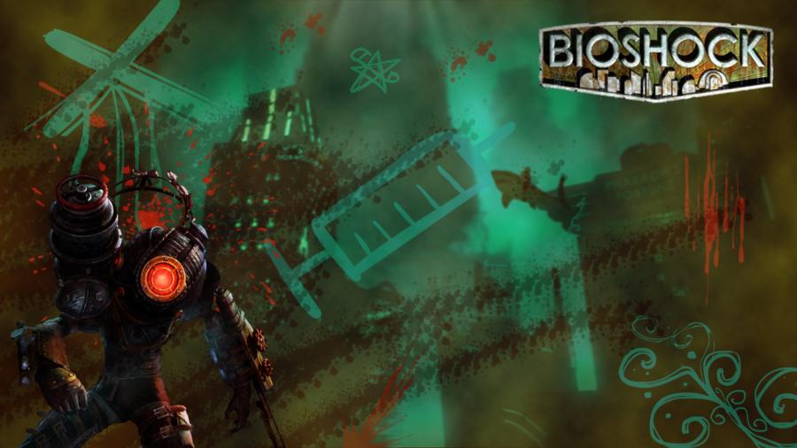 Big Daddy BioShock 2 Little Sister Bioshock Wallpaper