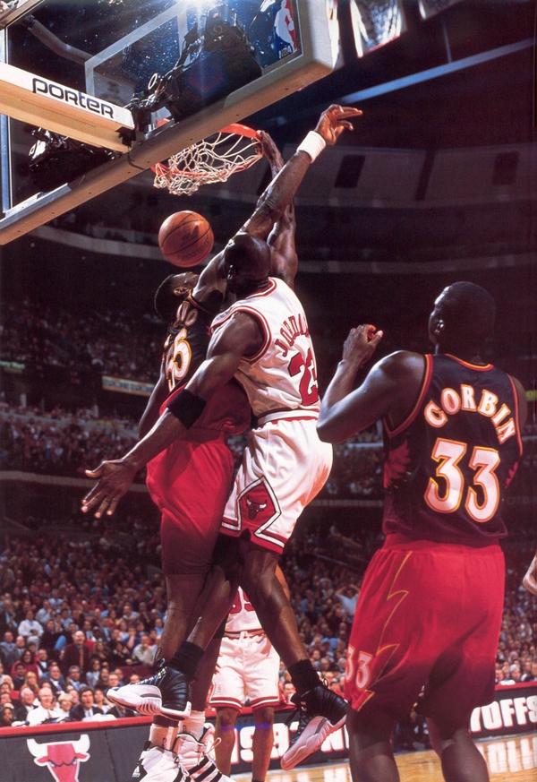 Michael Jordan Dunk Wallpaper Wallpapersafari