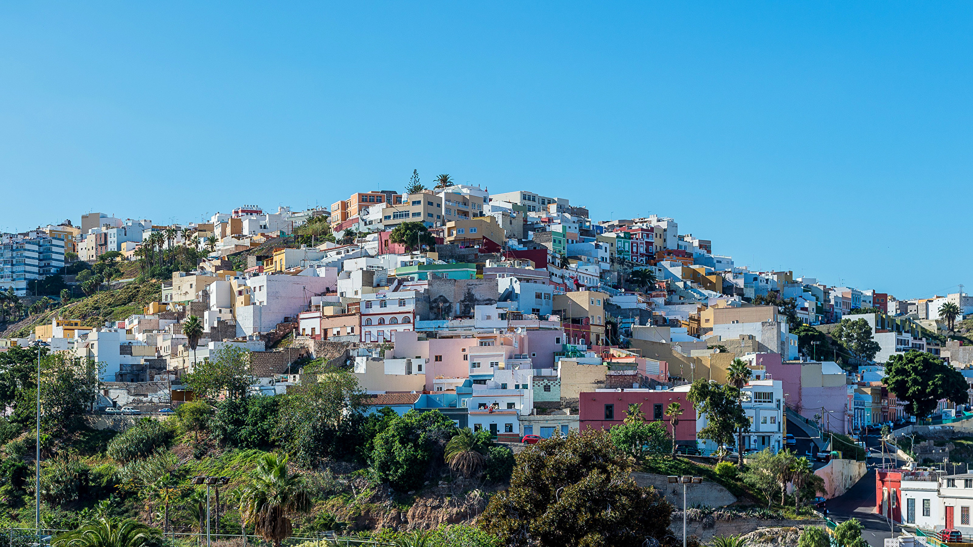 Free Download Wallpaper Spain Las Palmas Gran Canaria Cities