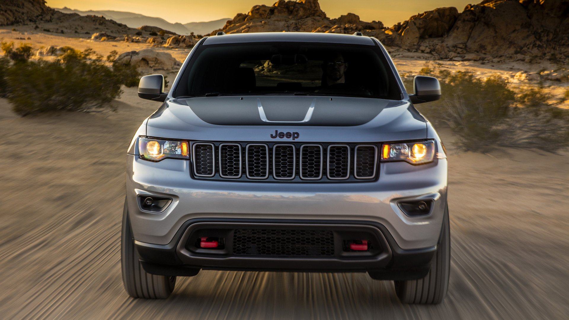 2017 Jeep Grand Cherokee Trailhawk   Wallpapers and HD Images 1920x1080